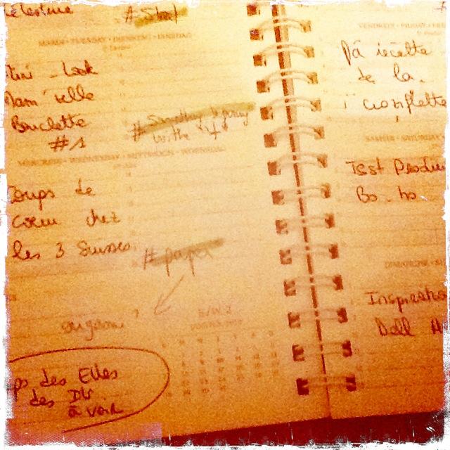 Être une blogueuse organisée