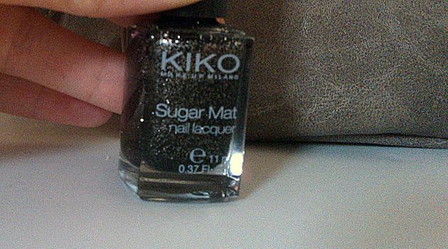 Sugar Mat de Kiko, j'ai succombé!!
