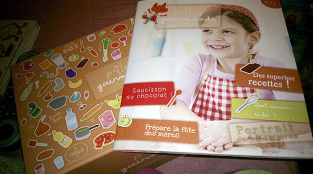 Les cuisiniers en herbe vont s'en donner à coeur joie avec la box Les P'tits Gourmands de Gastronomiz