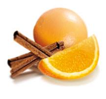 Soufflé glacé à l'orange et la cannelle