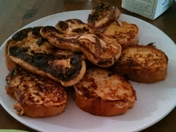 Pain perdu Weight Watchers