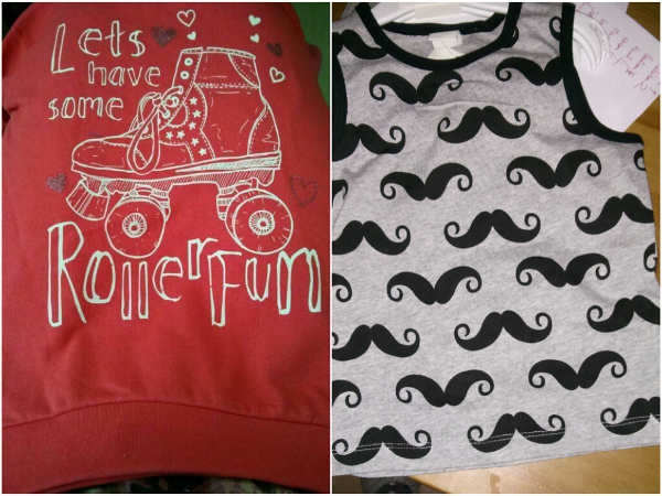 Ensemble moustache H&M