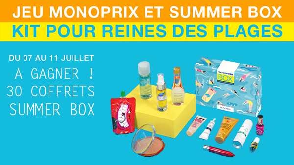 La Summer Box de Monoprix, elle est terrible!!