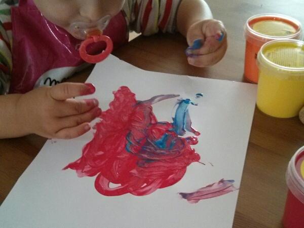 peinture doigts
