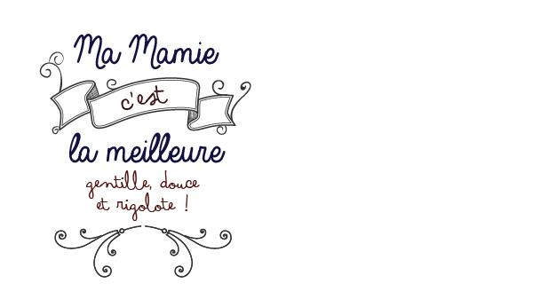 Bonne fête Mamie [Free printable]