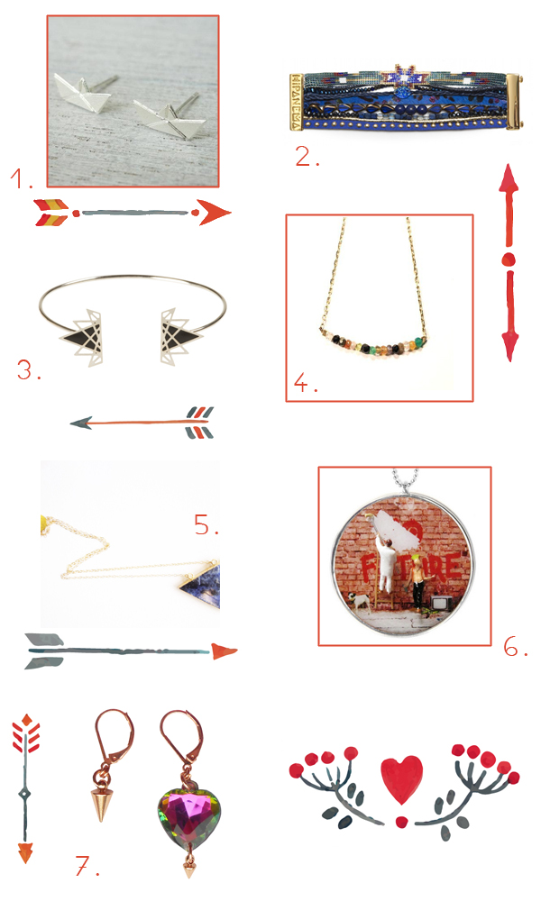 sélection de bijoux fantaisie