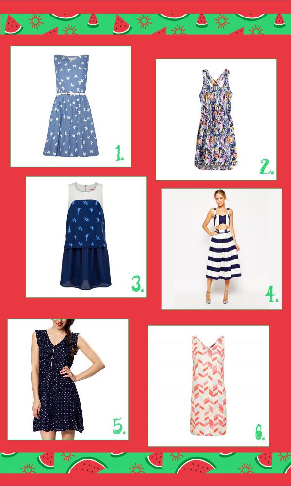 sélection robes d'été