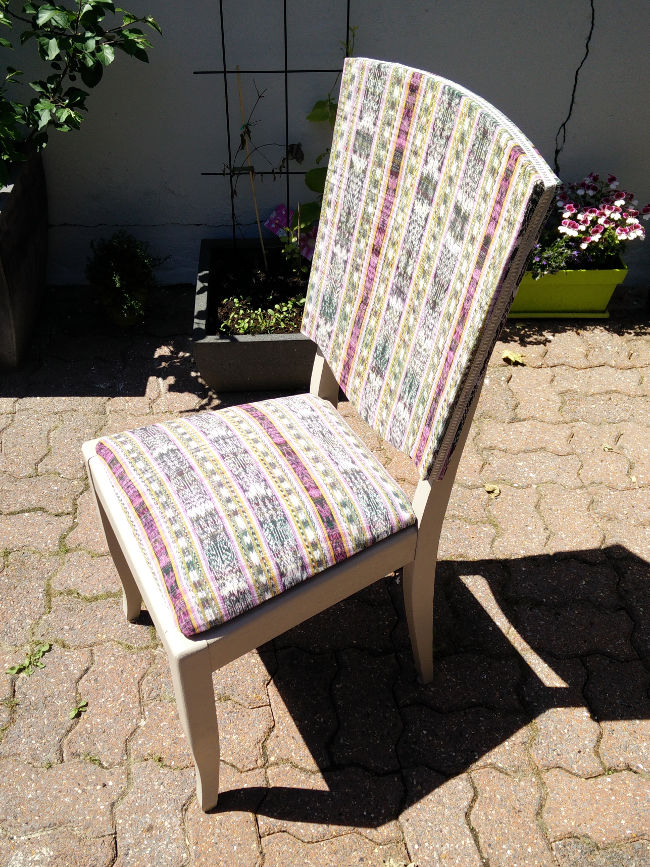 relooker vieille chaise