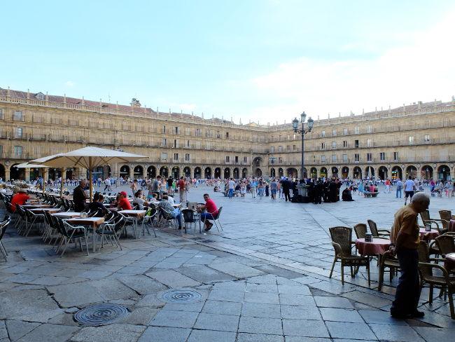 plaza mayor salamanca