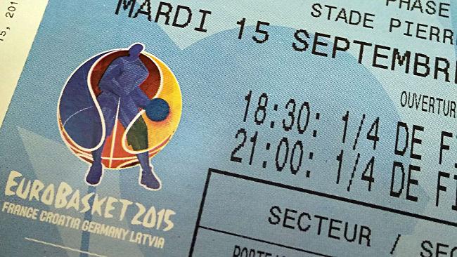 eurobasket à lille