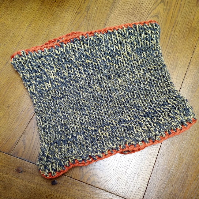 snood laine recyclée