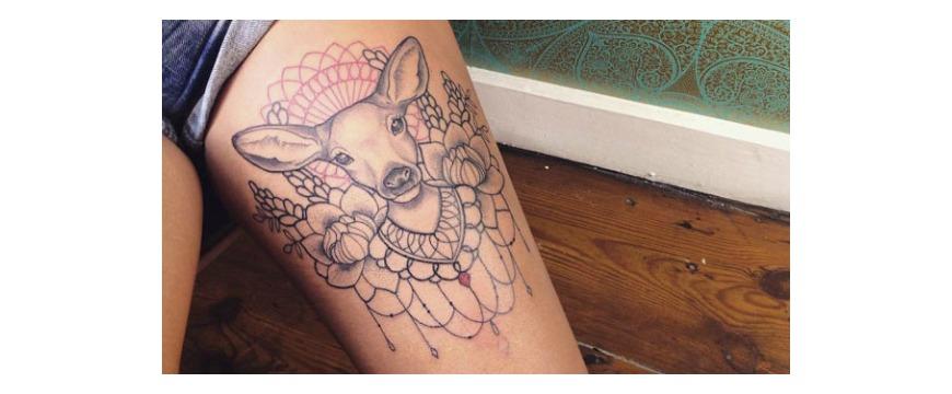 Tattoo Crush ##2 : Caroline Karenine
