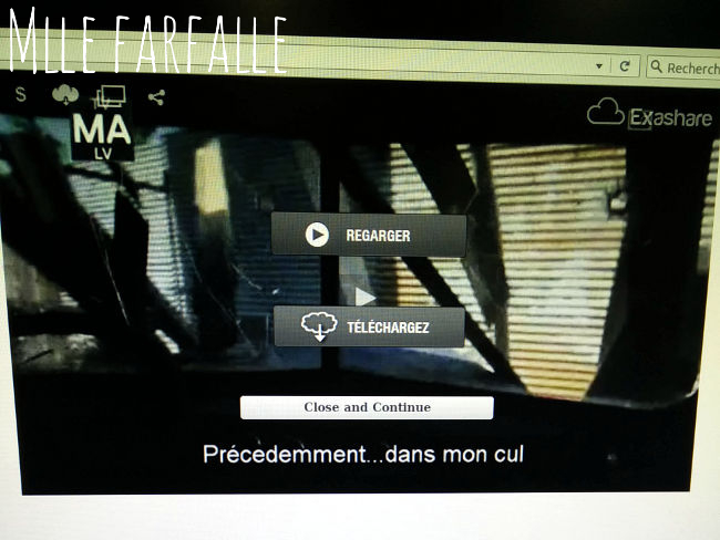 sous-titres bizarres the walking dead