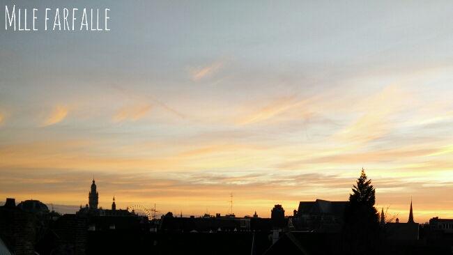 vue du vieux Lille le soir