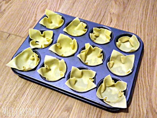 lasagnes individuelles recette