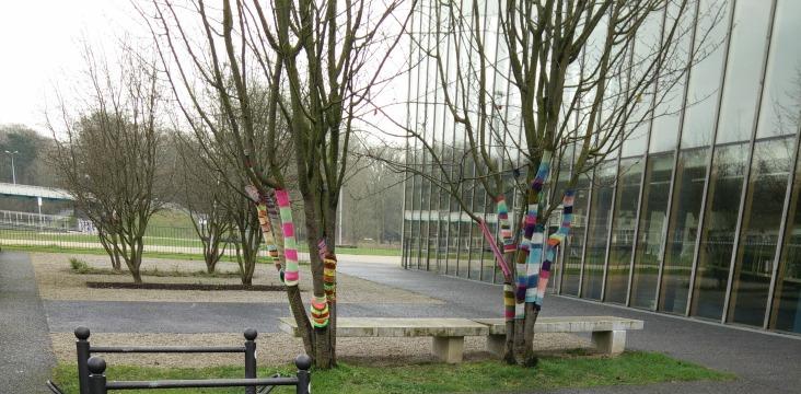 yarn bombing lille