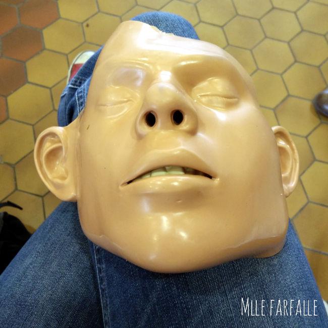 masque réanimation SST