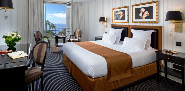 Chambre Hôtel le Majestic Cannes