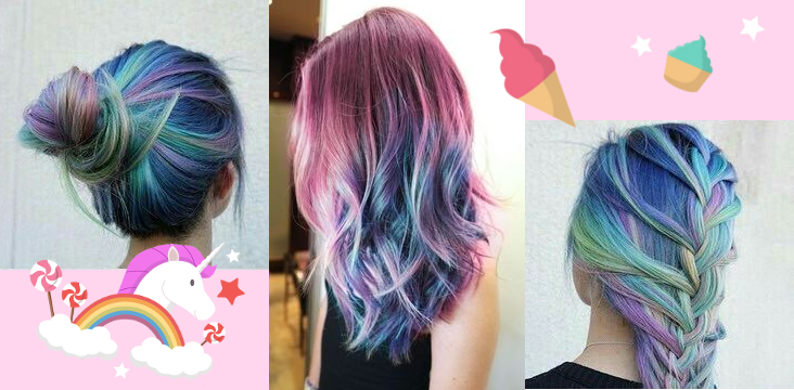 [Inspiration] Des cheveux de licorne