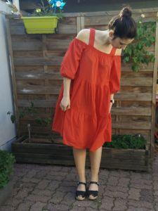 robe h&m rouge