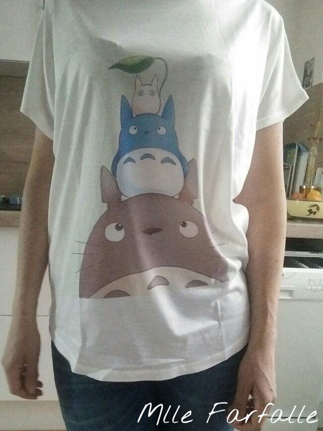 tshirt Totoro pas cher