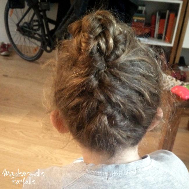tuto coiffure petite fille
