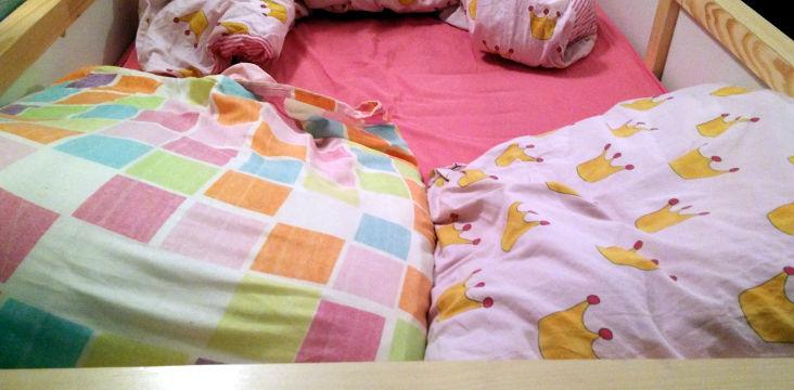 Dans le lit de ma Zébrelle