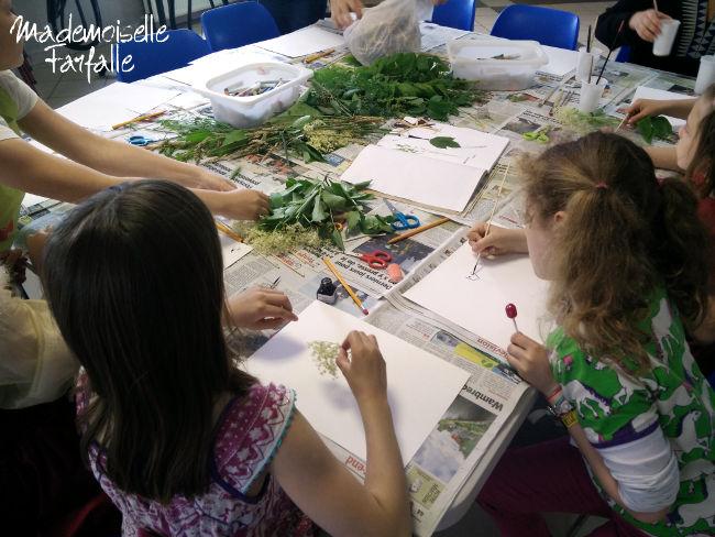 activité herbier enfants