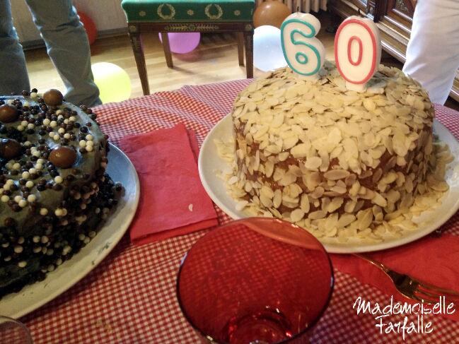 gâteau 60 ans