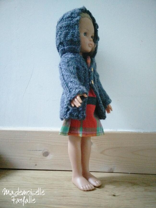 manteau tricoté Chérie de Corolle