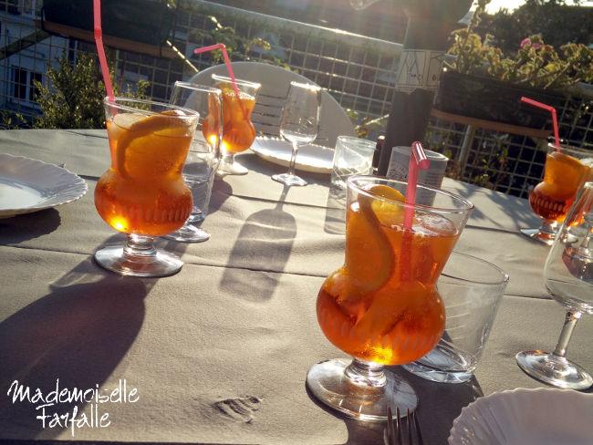 Spritz en terrasse