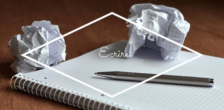 Écrire pour le plaisir