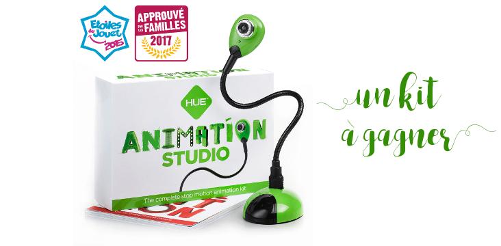 Le stop motion avec le Kit Animation Studio de HUE (concours terminé)