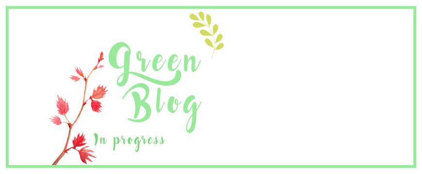 Le défi green blog : j'en suis!