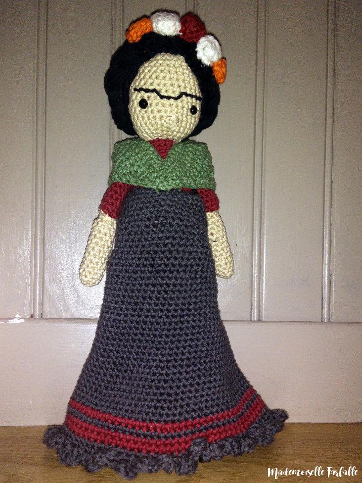 Frida Kahlo crochet