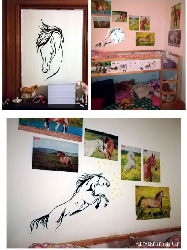 stickers chevaux
