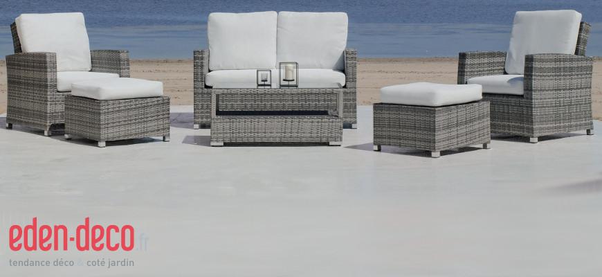 d co donner un coup de jeune sa terrasse avec eden. Black Bedroom Furniture Sets. Home Design Ideas