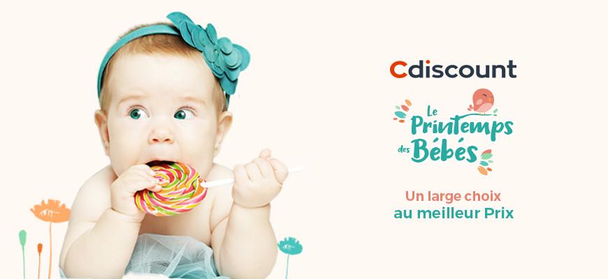 Le printemps des bébés chez CDiscount : de belles affaires pour les petits!