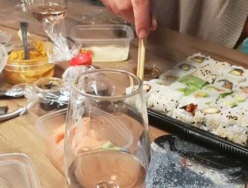 soirée sushis