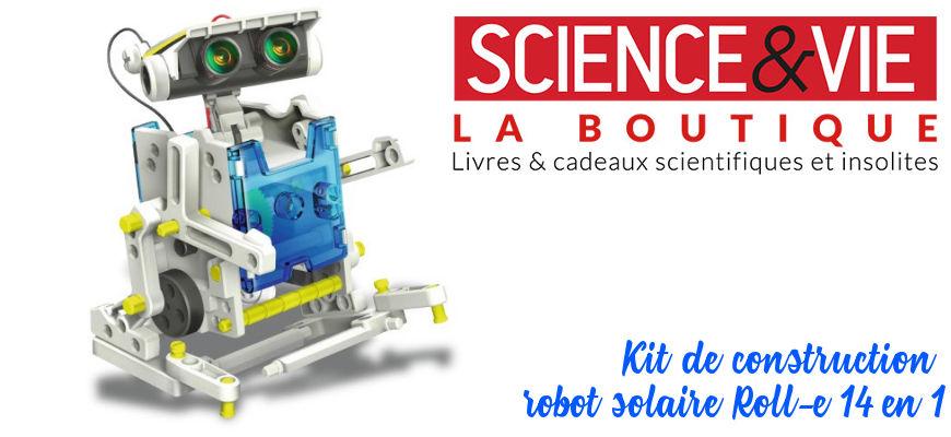 [Test produit] Le kit de construction robot solaire – Boutique Science et Vie