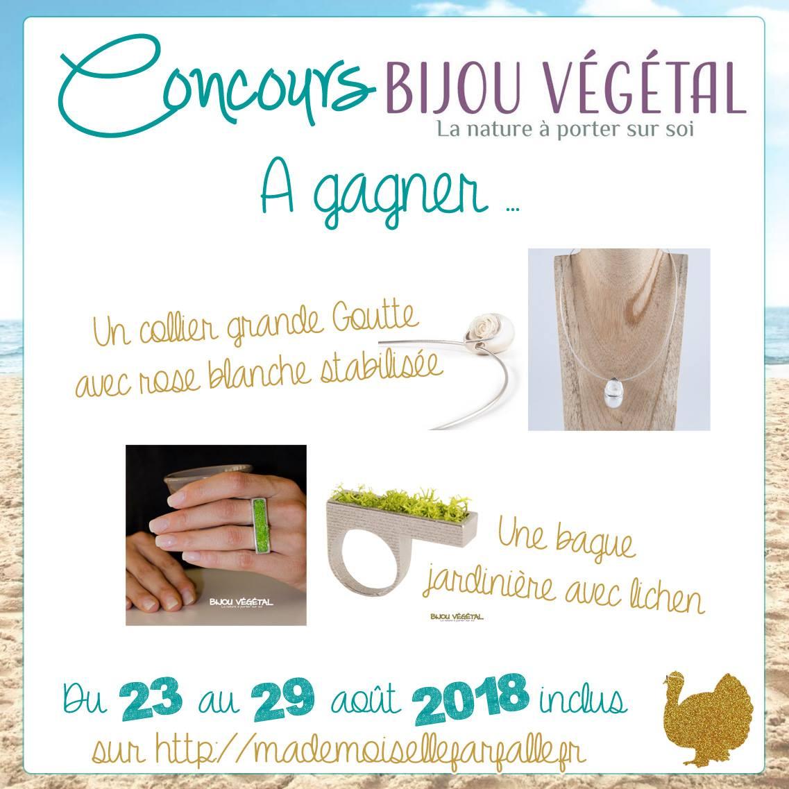 concours Bijou Végétal