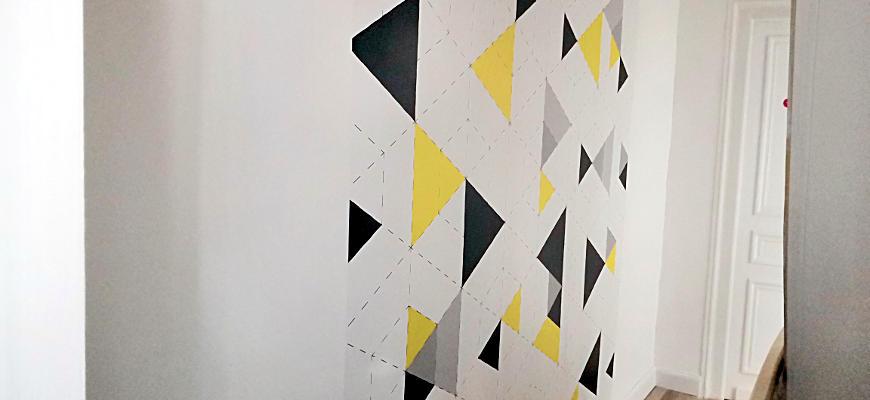 [Déco] Du papier peint dans mon couloir avec Pixers
