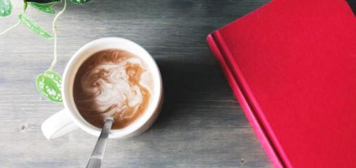livre et chocolat chaud
