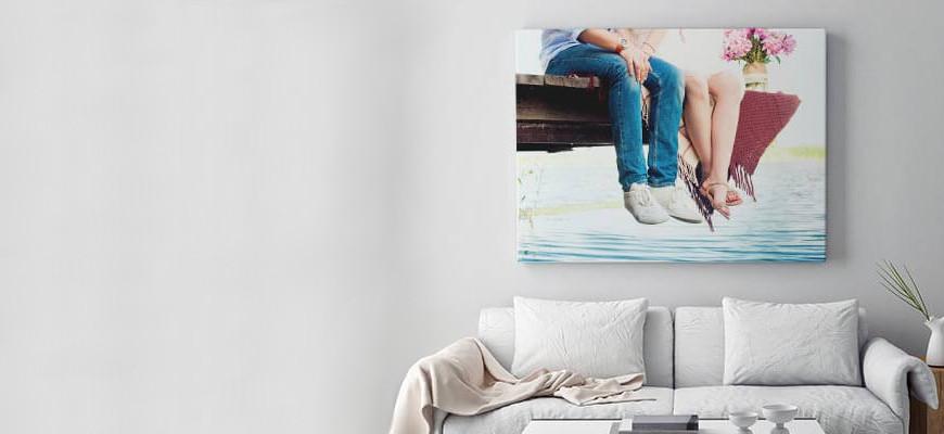 [Idée cadeau] Une Photo sur Toile avec MonOeuvre (+code promo)