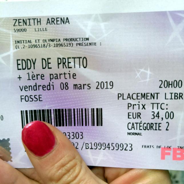 Eddy de Pretto Lille