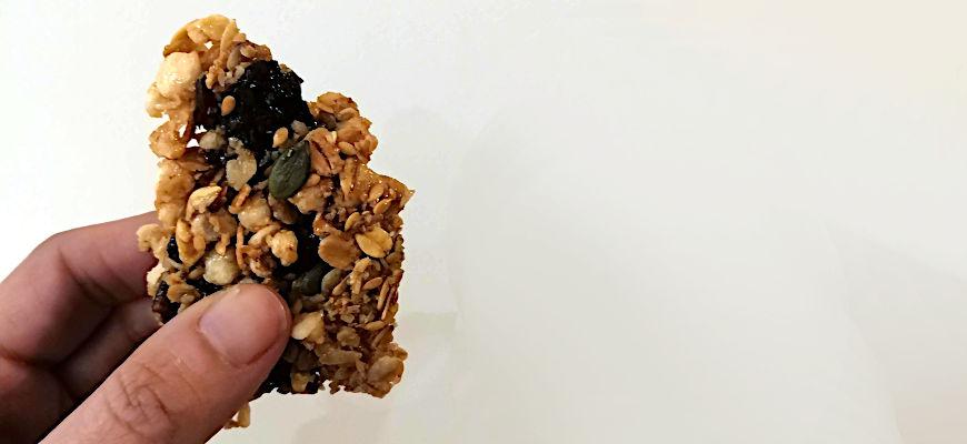 La recette des barres de céréales qui déchirent