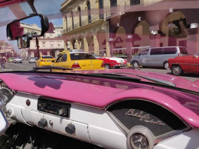 Balade voiture ancienne La Havane