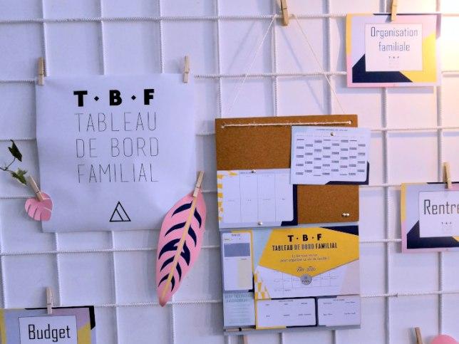 TBF, tableau de bord familial