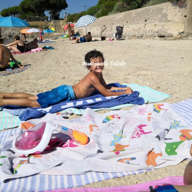 Raoul à la plage