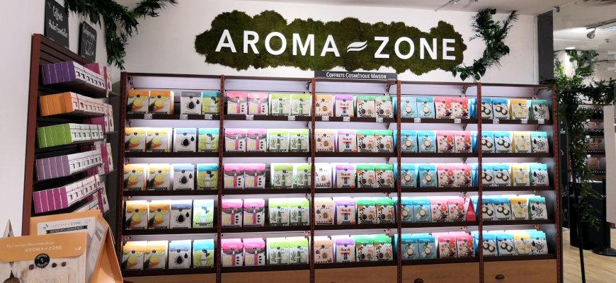 Aroma-zone débarque au Printemps de Lille